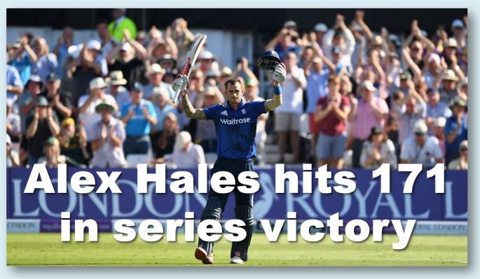 Alex Hales 171 runs